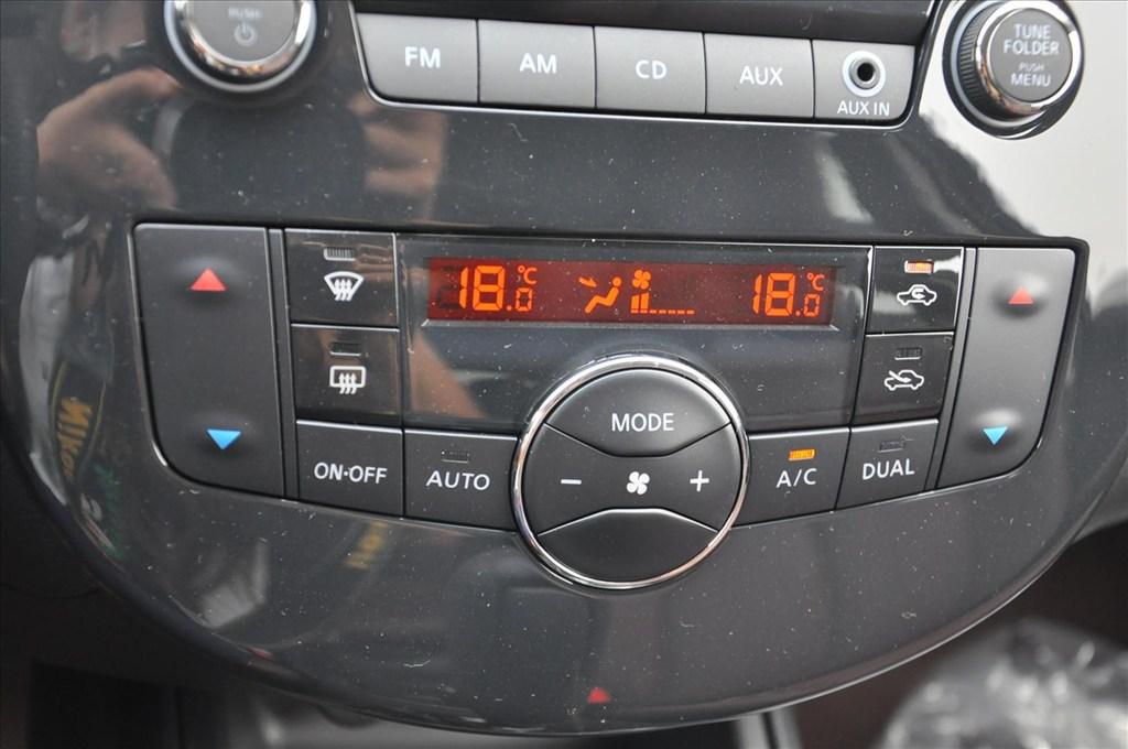 骐达中控台空调控制键