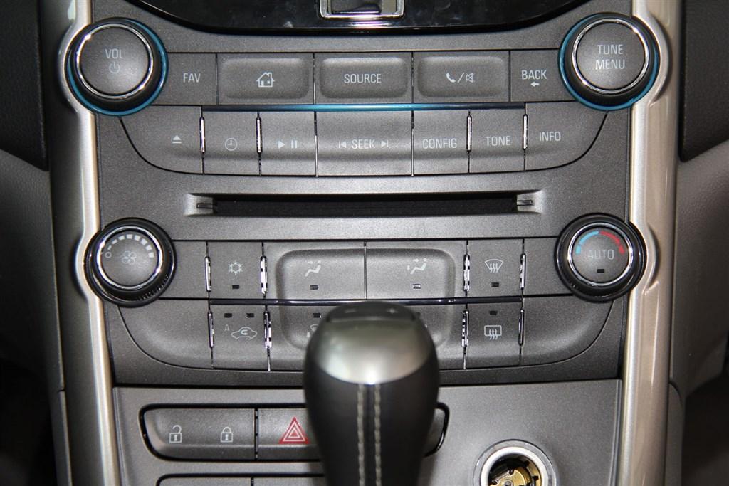 迈锐宝中控台空调控制键