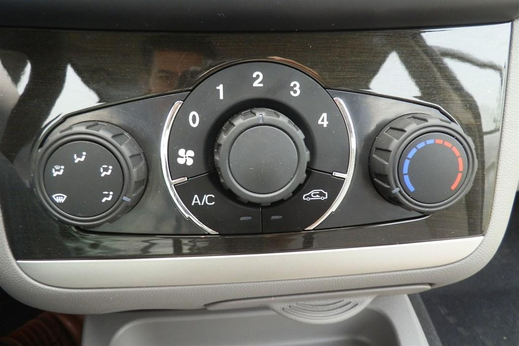 北汽威旺m20中控台空调控制键