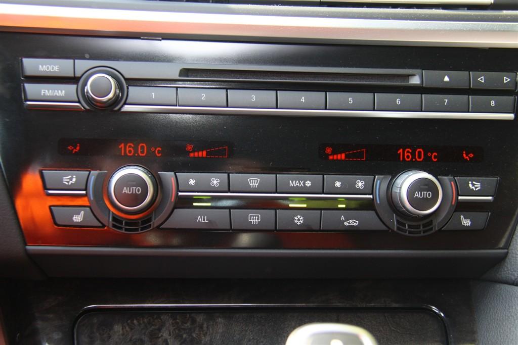 宝马6系(进口)中控台空调控制键