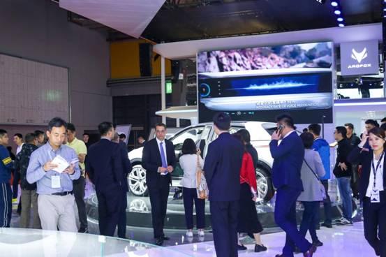 轰动日内瓦的ARCFOX降临上海车展 ARCFOX成新能源汽